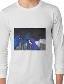 Princesses in battle Long Sleeve T-Shirt