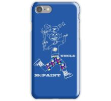 Uncle McPaint At Play iPhone Case/Skin