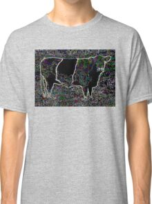 BANDED GALLOWAY COW DESIGN Classic T-Shirt