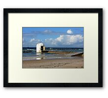 Pumphouse By The Sea - Original Framed Print