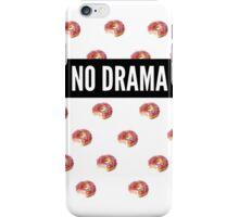"""""""No Drama"""" Doughnut print iPhone Case/Skin"""