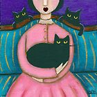 Anna's Black Cats by Ryan Conners