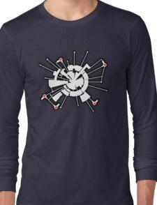 Alpha Moon Base Front Long Sleeve T-Shirt