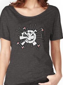Alpha Moon Base Front Women's Relaxed Fit T-Shirt