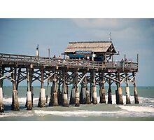 Cocoa Beach Pier Photographic Print