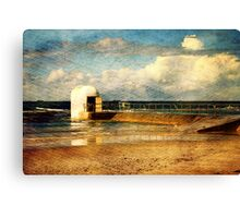 Pumphouse By The Sea Canvas Print