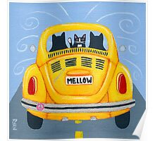 Mellow Yellow Bug Poster