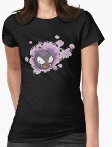 Gastly - pixel art Womens Fitted T-Shirt