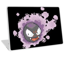Gastly - pixel art Laptop Skin