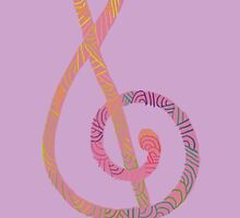 Treble Clef No.4 by Stitchedcresent