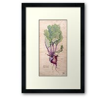 Heart Beet Framed Print