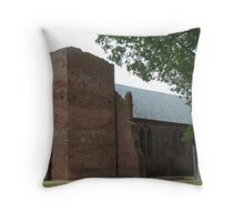 Historic Church Tower - Jamestown, VA Throw Pillow