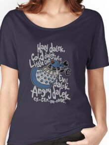 Little Can of Hate (Movie Dalek) Women's Relaxed Fit T-Shirt