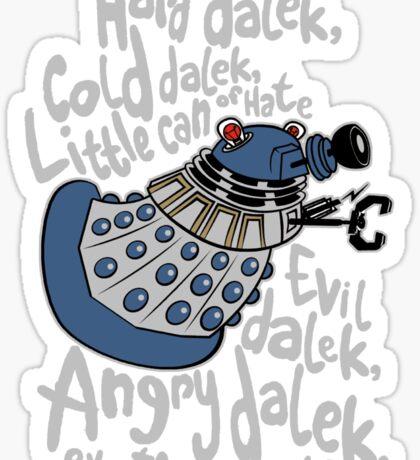Little Can of Hate (Movie Dalek) Sticker