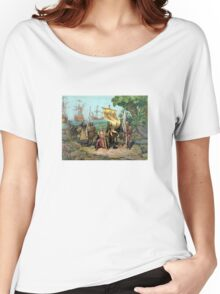 Columbus Taking Possession Of The New Country Women's Relaxed Fit T-Shirt