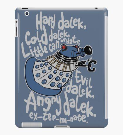 Little Can of Hate (Movie Dalek) iPad Case/Skin