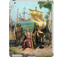 Columbus Taking Possession Of The New Country iPad Case/Skin
