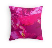 Pink Dragon #3 Throw Pillow