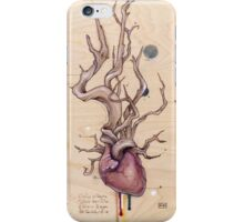 Driftwood Heart 5 iPhone Case/Skin
