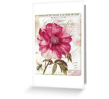 Le Pink Greeting Card