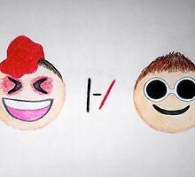 Tyler and Josh As Emojis by Møntana Stayer