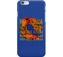 Rock Chalk Jayhawk Basketball iPhone Case/Skin