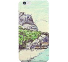 Pointe Source D'Argent iPhone Case/Skin