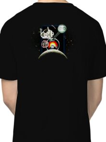 Odyssey Space 2001 Back Classic T-Shirt