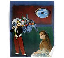 Rothko, Cezanne, Manet, Magritte, Renoir Poster