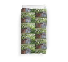 Rusty Old Shed (Barn) Duvet Cover