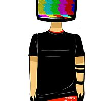 We Don't Believe What's On TV (Colored Static) by cactiiboy