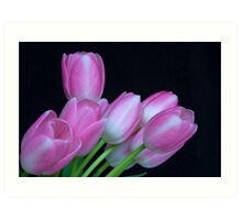 Tulip Bouquet To You Art Print