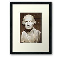 A George Washington Bust Framed Print