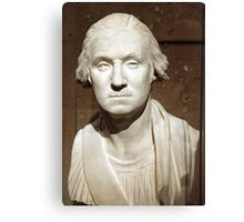 A George Washington Bust Canvas Print