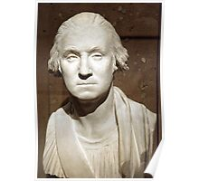 A George Washington Bust Poster
