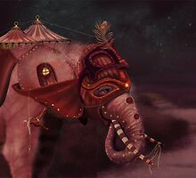 Elephant Caravan by NinaVelvet