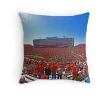 See of Red Throw Pillow
