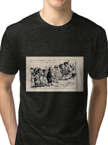 Some Little People George Kringle & Kate Greenaway 1881 0015 Walking Tri-blend T-Shirt