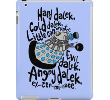 Skaro Dalek (Soft Kitty Parody) iPad Case/Skin