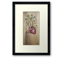 Clover Heart Framed Print