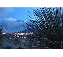 Colorado Springs in Bokeh Form Photographic Print