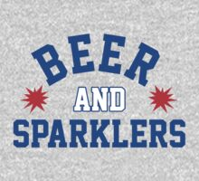 Beer and Sparklers T-Shirt