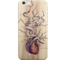 Driftwood Heart 04 iPhone Case/Skin
