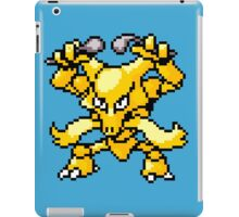 Kadabra - pixel art iPad Case/Skin
