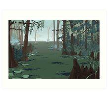 Marshland Magic Art Print