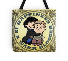 Happiness is a Warm Blogger Tote Bag