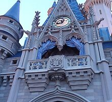 Cinderella's Castle Phone Case by wdwonders