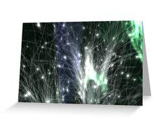 Neuralnet green Greeting Card