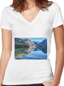 REFLECTIONS Women's Fitted V-Neck T-Shirt