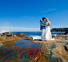 wedding Shelly Beach south of Melbourne by idphotography